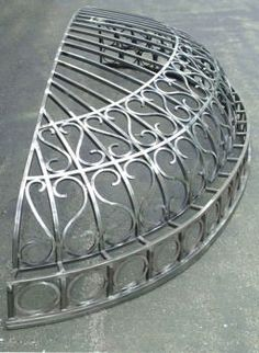 Arquitectural metal canopy