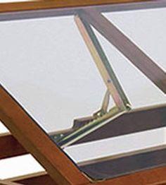 Close up of Sierra table hinge