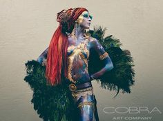 PROWESS - Fashion & Faces Photography on plexiglass Cobra Art Company