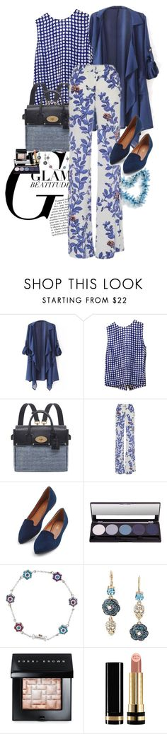 """""""mix and chic"""" by claire86-c on Polyvore featuring moda, Equipment, Mulberry, Johanna Ortiz, Betsey Johnson, Bobbi Brown Cosmetics e Gucci"""