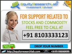 https://flic.kr/p/UdiFL2 | equity research lab special offer 02 May 2017 | Stock Future Tips start from 16000 it completely based on research for intraday market moment with 80%-85% accuracy up to 3-4 calls/day will be provided with two targets one stop loss. The calls accuracy can be judged in our one day free trial.