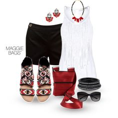 Black Cherry, created by maggiebags on Polyvore