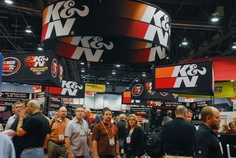 K & N Engineering Makes a Big Splash with New Products and Hot Vehicles at the 2012 SEMA Show
