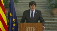 """Catalan ex-leader Carles Puigdemont vows to resist takeover https://tmbw.news/catalan-ex-leader-carles-puigdemont-vows-to-resist-takeover  Sacked Catalan leader Carles Puigdemont has called for """"democratic opposition"""" to direct rule from Madrid by Spain's government.He condemned the suspension of Catalonia's autonomy and promised to continue to """"work to build a free country"""".He made the call in a TV address broadcast from an undisclosed location.The Spanish government has stripped Catalonia…"""