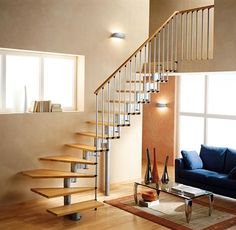 Breathtaking Spiral Staircases For Small Spaces: Inspiring Design A  Staircase For Small Spaces ~ Mutni