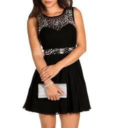 Mollie-black Homecoming Dress from Windsor