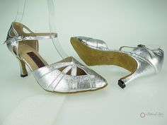 Natural Spin Designer Salsa Shoes/Tango Shoes/Fashion Shoes(Closed Toe, Leather)