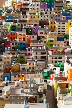 Favela Rocinha: Beeindruckendes LEGO MOC von Gavin Hodgkinson › PROMOBRICKS