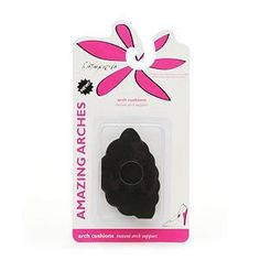 """Foot Petals #BAA1001 Foot Petals Amazing Arches - Black Iris Size Standard by Foot Petals. $9.95. For those of use who have a love/hate relationship with our sexy shoes  Support arches - gives shoes the """"perfect"""" fit feeling  Work with the body's natural shock absorption system to reduce """"foot fatigue""""  Help prevent calluses from forming, protect bones & tissue, reduce back pain  Virtually invisible - work great with sexy flats and high heels  One size fits fabulous..."""