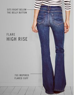 Womens Flare Jeans | Abercrombie.com