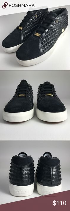 Nike LeBron XIII Lifestyle Black Sneakers Men's 12 Condition: New without tags/box! No rips, holes or stains. Nike LeBron XIII Lifestyle Black Sneakers Men's 12 Size: US 12; UK 11; EUR 46; cm 30 Width: Medium Style: 819859 001 Colors:Black / Sail-Metallic Gold Materials: N/A Nike Shoes Sneakers