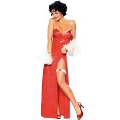 Deguisement Betty Boop starlette sexy femme sous licence officielle Betty Boop pour fête déguisée et nouvel an.