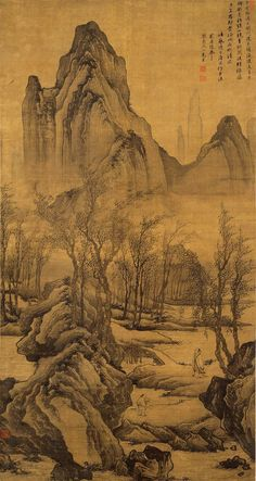 "thorsteinulf: "" Tang Yin - Walking along the Streams """