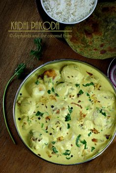 Punjabi Kadhi pakoda /Punjabi recipes : Bengal gram dumplings dunked in awesome yogurt gravy. A soothing curry to make you feel good in the winter especially.