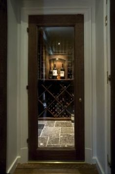 wine room idea for downstairs ..love