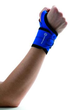 De Rehband polsbrace 7910 stabiliseert de pols licht en is geschikt voor actieve gebruikers met milde pijn.