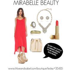 """MIRABELLE BEAUTY"" by lesleysmith614 on Polyvore  www.chloeandisabel.com/boutique/Lesley#35435"