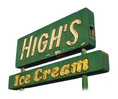High's Dairy Stores. At one tme they were all over the Washington DC area then 7-11 bought the local stores and they became history.