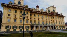 Esterhazy Palace, Eisenstadt, Austria Austria, Palace, Louvre, Building, Photography, Travel, Photograph, Viajes, Buildings