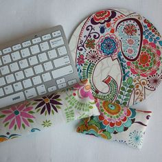 elephant mouse pad with wrist rest - Google Search