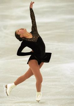 Michelle Kwan, one of the best figure skaters in history.  She is sorely missed!