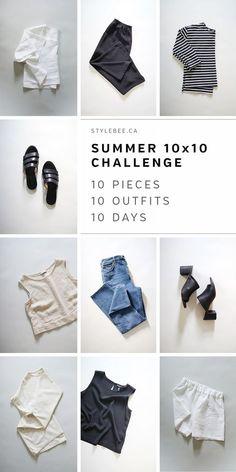 Essential Buying Guide for your Summer Minimalist Capsule Wardrobe 10 Piece Wardrobe, 10 Item Wardrobe, Capsule Wardrobe Mom, Summer Wardrobe, Mom Wardrobe, Parisienne Chic, Summer Minimalist, Minimalist Fashion, Minimal Wardrobe