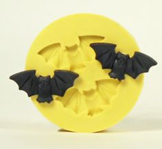 Flexible Silicone Bat Mold for Soap and Food Resin Crafts, Jewelry Crafts, Fun Crafts, Arts And Crafts, Resin Molds, Soap Molds, Silicone Molds, Halloween Treats, Halloween 2017