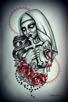 Zombie Skull Tattoo Designs Everything die tattoo design