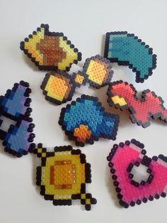 Pokemon-Badges Hoenn-Liga von JustALevel auf Etsy