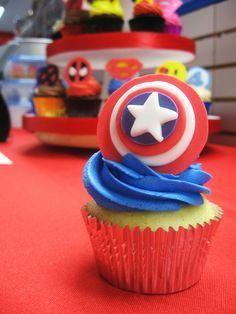 Superhero Cupcakes   by Jenny Burgesse