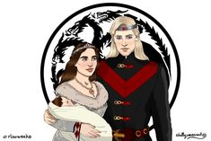 Rhaegar x Lyanna AU Week Day Canon Divergence I went with R+L as King and Queen with baby Jon (I know he's Aegon in the show now😒 but I'd prefer Jaeherys or Aemon as his real name). Anyway I hope. Rhaegar E Lyanna, Fancy Chair, Black Widow Scarlett, I Love Games, Dark Hunter, Fanart, Game Of Thrones Art, Valar Morghulis, Best Shows Ever