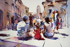 Trevor Lingard watercolor