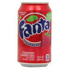 Купить Fanta Strawberry банка 355 мл — цена доставка магазин Сладкая страсть Москва