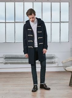 Duffle Coat Tom // Marine