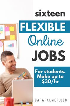 Here are the best legit online jobs for college students with no experience. These jobs are flexible part-time jobs to work from home and make money. You'll find websites that hire students, as well as social media jobs and writing jobs. Find out how easy it is to work from home and make extra money on the side. Online Jobs For Students, Student Jobs, College Students, Work For Students, Legit Online Jobs, Online Jobs From Home, Work From Home Jobs, Online College, Earn Money From Home