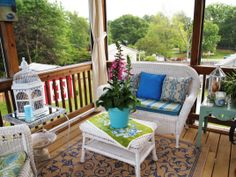 screened in porch decorating ideas on a budget screened in porches ... - Screened In Patio Decorating Ideas