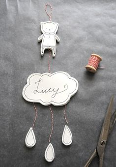 DIY Clay Nursery Mobile