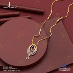 Gemstone Necklace jewellery for Women by jewelegance. ✔ Certified Hallmark Premium Gold Jewellery At Best Price Gold Chain Design, Gold Bangles Design, Gold Earrings Designs, Gold Jewellery Design, Gold Necklace Simple, Gold Jewelry Simple, Jena, Basin, Jewels