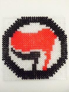 #Antifa Perler Beads Bügelperlen