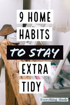 Here are a few common habits people with clean houses tend to all share, 9 home habits of people who always have a sparkling clean home.