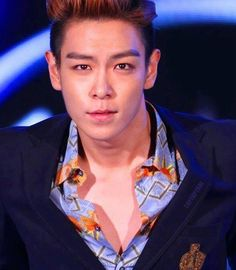 TOP's rare chest exposure. Just too much to handle!