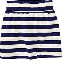 Girls Jersey Mini Skirts