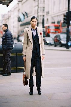 London Fashion Week AW 2015....Caroline