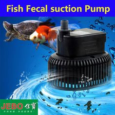 JEBO Submersible Water Pump For Aquarium 220v~240V 30W Aquarium Pump For Fish Tank Clean the Fecal Automatically AP980D