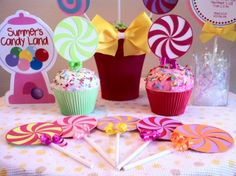sweet shoppe birthday party | CandyLand Lollipop Invitations Sweet shoppe Birthday Party Sweet 16