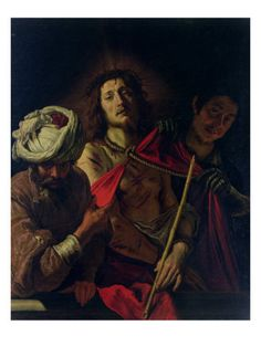 """Ecce Homo (This is the Man) by Domenico Fetti. """"But he was pierced for our transgressions, he was crushed for our iniquities; the punishment that brought us peace was upon him, and by his wounds we are healed."""" Isaiah 53:5"""