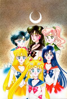 Cover for the Kodansha Tankōbon, Vol. 6; from Bishoujo Senshi Sailor Moon Original Picture Collection, Vol. II | art by Naoko Takeuchi