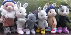 "Knitting pattern ""Boots & Socks"" for Sylvanian Families and Calico Critters in PDF format"