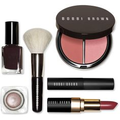 Bobbi Brown Runway Beauty Secrets Set ($75) ❤ liked on Polyvore featuring beauty products, makeup, no color, mini makeup, lips makeup, bobbi brown cosmetics and long wear makeup