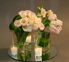 Wedding Centerpiece Design. Elegant, Simple & Stylish.  www.irisrosin.com
